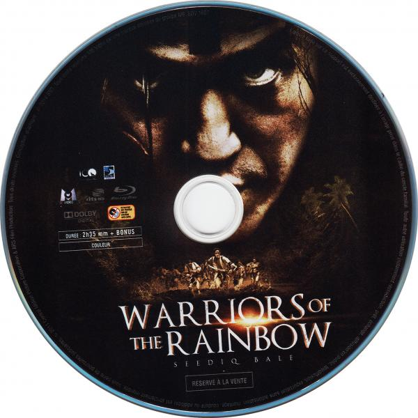 Warriors of the rainbow (blu-ray) (sticker)