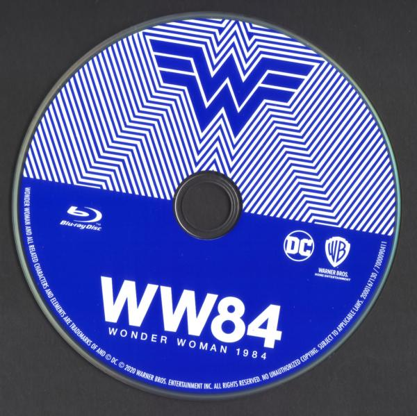 Wonder woman 1984 (Sticker Blu-ray)